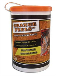 """ORANGE PEELS 10"""" X  12""""  70 SHEETS / CANISTER 6 CANISTERS PER CASE"""