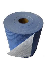 SCRIM 4 PLY BLUE ROLL TOWEL 9.75 X 1500'