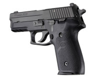 Hogue Sig Sauer P228 - P229 Rubber Panels Black