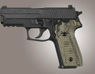 Hogue Sig Sauer P228 P229 Piranha Grip G10 - G-Mascus Green