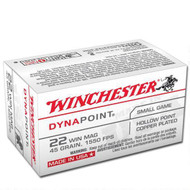 Winchester Dynapoint .22 WMR 45gr per 50