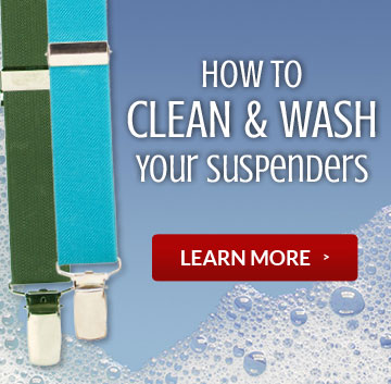 How to Clean and Wash Suspenders