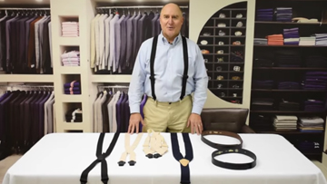 How to Find A Pair Of Airport Friendly Suspenders