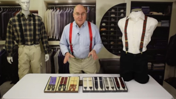 How to Find the Perfect Pair Of Silk Suspenders