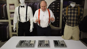 How to Pick The Ideal Pair Of Tuxedo Suspenders