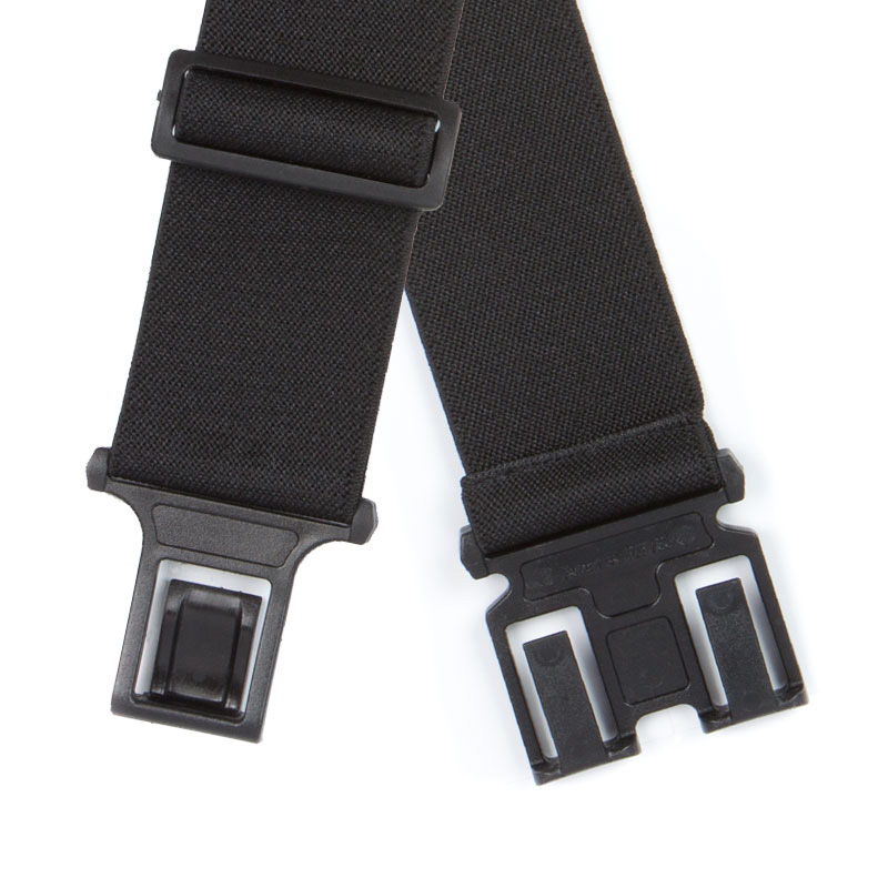 Detailed view of black Perry Belt Clips