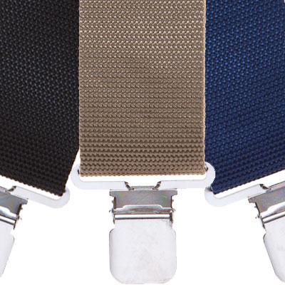 Variety of polypropylene fabric suspenders