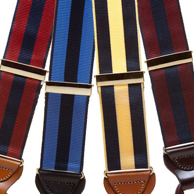 Grosgrain suspenders