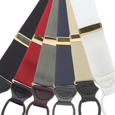 Oxford cloth suspenders