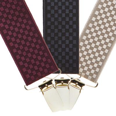 Jacquard fabric suspenders