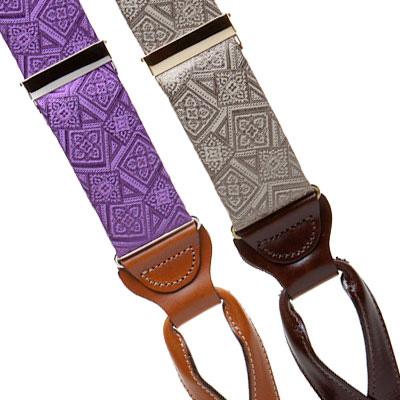 Silk suspenders