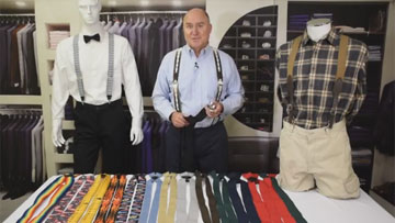 How to Pick the Pefect Pair of Pin Clip Suspenders
