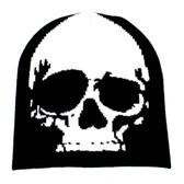 Skull beanie.
