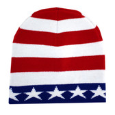 Stars and stripes beanie.