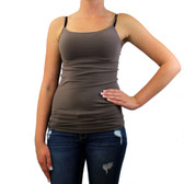 Pewter seamless tank top, one size fits most.