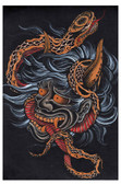 Scorned by Clark North Tattoo Art Print Japanese Asian Snake
