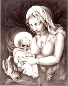 Mother Mary - Canvas Giclee