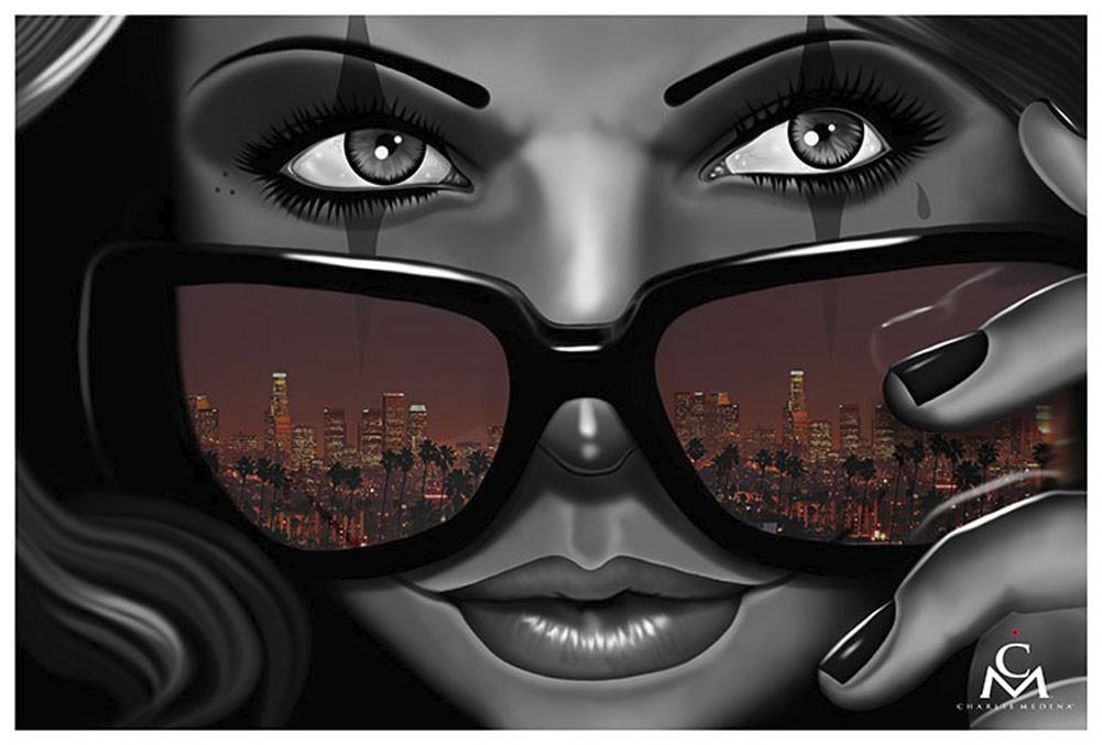 Welcome To California By Charlie Medina Tattoo Fine Art