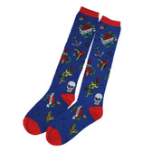 Tattoo Flash Women's Knee High Socks