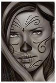 Simplicity by Big Ceeze Fine Art Print Sugar Skull