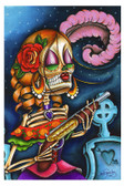 Bonita by Dave Sanchez Fine Art Print Day of the Dead Sugar Skull