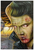 Viva Las Vegas by Randy Drako Fine Art Print Elvis Presley Zombie Monster