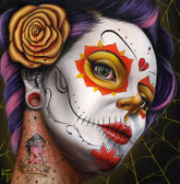Poison Girl by Randy Drako Canvas Giclee