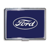 Ford Logo Cigarette Case Business Card Holder Wallet