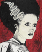 Frank's Bride of Frankenstein by Byron Canvas Giclee Art Print