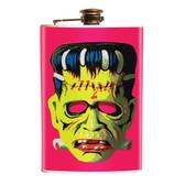 Frankie Mask Frankenstein Stainless Steel Flask