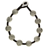 Celtic alloy bracelet.