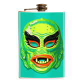 Fish Face Mask Flask