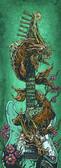 David Lozeau Koi Dragon Strat Canvas Giclee