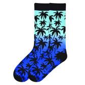 K. Bell Men's Palm Tree Socks