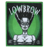 Lowbrow Dead Bride of Frankenstein Patch