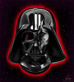 Darth Vader Dark Side by Charlie Medina