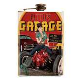 Bettie Page Bettie's Garage Flask