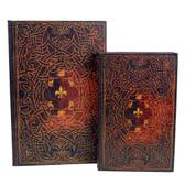 Celtic hidden stash book box.