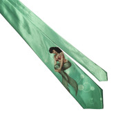 Bettie Page Mermaid Bettie Men's Tie