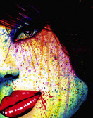 Carissa Rose As The Dust Settles Portrait Canvas Giclee