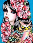 Carissa Rose Taken For Granted Owl Canvas Giclee