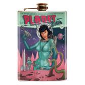 Bettie Page Planet Bettie Flask
