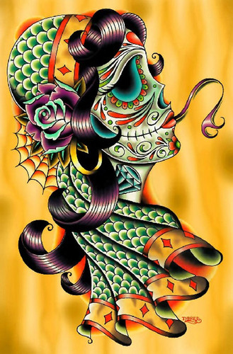 Tyler Bredeweg - Cold Blooded Gypsy - Canvas Giclee