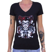 Miss Cherry Martini - Jester - Women's Tee Shirt
