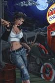 JR Linton - The Empty Barrel Fuel Depot - Fine Art Print