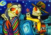 Dave Sanchez - Noche de los Muertos - Canvas Giclee