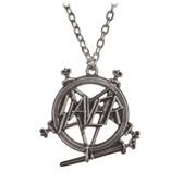 Alchemy Rocks Slayer Pentagram Pendant Necklace Pewter Jewelry PP508