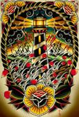 Last Port by Tyler Bredeweg Canvas Giclee Nautical Lighthouse