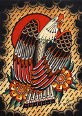 Bird of Prey by Tyler Bredeweg Canvas Giclee American Traditional Eagle