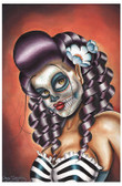 No Rest For The Wicked by Dave Sanchez Fine Art Print Day of the Dead Sugar Skull